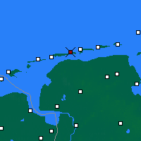 Nearby Forecast Locations - Baltrum - Carte