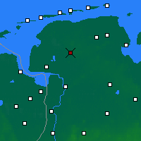 Nearby Forecast Locations - Aurich - Carte