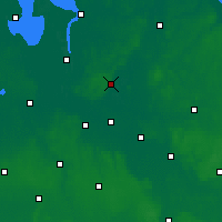 Nearby Forecast Locations - Osterholz - Carte