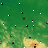 Nearby Forecast Locations - Peine - Carte