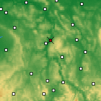 Nearby Forecast Locations - Holzminden - Carte