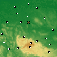 Nearby Forecast Locations - Wolfenbüttel - Carte