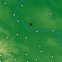 Nearby Forecast Locations - Zerbst - Carte