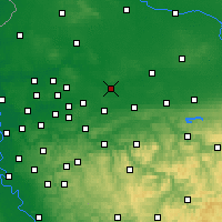 Nearby Forecast Locations - Lünen - Carte