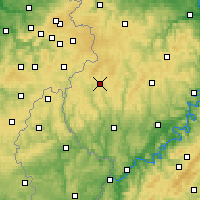 Nearby Forecast Locations - Prüm - Carte