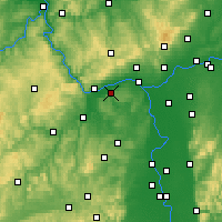 Nearby Forecast Locations - Ingelheim - Carte