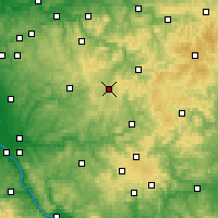 Nearby Forecast Locations - Olpe - Carte