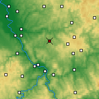 Nearby Forecast Locations - Altenkirchen - Carte
