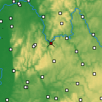 Nearby Forecast Locations - Miltenberg - Carte