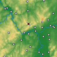 Nearby Forecast Locations - Bad Schwalbach - Carte