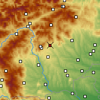 Nearby Forecast Locations - Weiz - Carte
