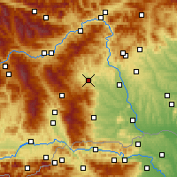 Nearby Forecast Locations - Voitsberg - Carte