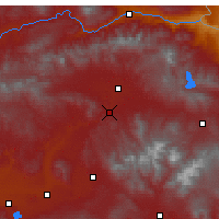 Nearby Forecast Locations - Hamur - Carte