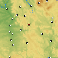 Nearby Forecast Locations - Velden - Carte