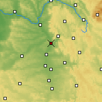 Nearby Forecast Locations - Forchheim - Carte