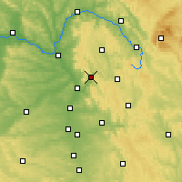 Nearby Forecast Locations - Ebermannstadt - Carte