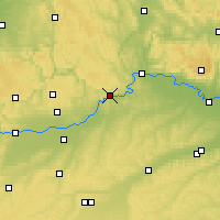 Nearby Forecast Locations - Kelheim - Carte