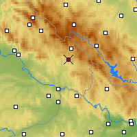 Nearby Forecast Locations - Freyung - Carte