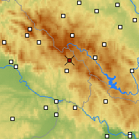 Nearby Forecast Locations - Mauth - Carte
