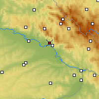 Nearby Forecast Locations - Metten - Carte