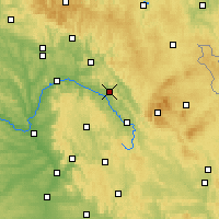 Nearby Forecast Locations - Kulmbach - Carte