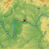 Nearby Forecast Locations - Haßfurt - Carte