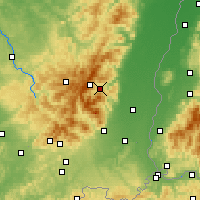 Nearby Forecast Locations - Munster - Carte