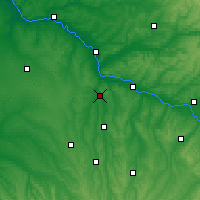 Nearby Forecast Locations - Nérac - Carte