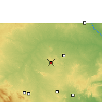 Nearby Forecast Locations - Adoni - Carte