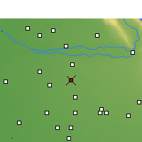 Nearby Forecast Locations - Ahmedgarh - Carte