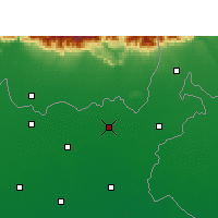 Nearby Forecast Locations - Bahadurganj - Carte