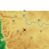 Nearby Forecast Locations - Chikodi - Carte