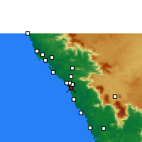 Nearby Forecast Locations - Panoor - Carte