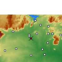Nearby Forecast Locations - Erode - Carte