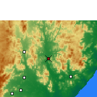 Nearby Forecast Locations - Gunupur - Carte