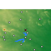 Nearby Forecast Locations - Jamtara - Carte