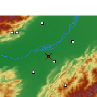 Nearby Forecast Locations - Jorhat - Carte