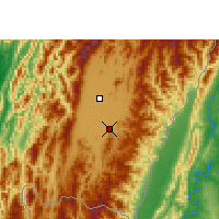 Nearby Forecast Locations - Kakching - Carte