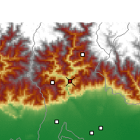 Nearby Forecast Locations - Kalimpong - Carte