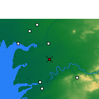 Nearby Forecast Locations - Karjan - Carte