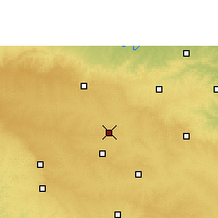 Nearby Forecast Locations - Latur - Carte