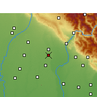 Nearby Forecast Locations - Manglaur - Carte