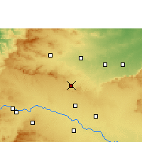 Nearby Forecast Locations - Manmad - Carte