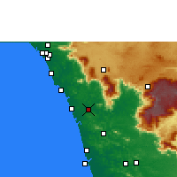 Nearby Forecast Locations - Mavoor - Carte