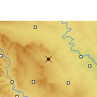 Nearby Forecast Locations - Mhaswad - Carte