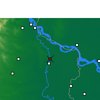 Nearby Forecast Locations - Murshidabad - Carte