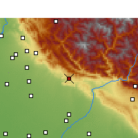 Nearby Forecast Locations - Nahan - Carte