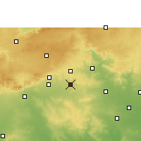 Nearby Forecast Locations - Narkhed - Carte