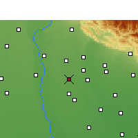 Nearby Forecast Locations - Noorpur - Carte