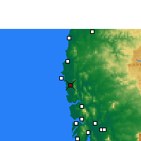 Nearby Forecast Locations - Palghar - Carte